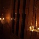 Лампадофоры в интерьере храма. Кронштейны «Херсонес»