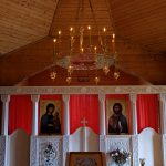Малый хорос (паникадило), изготовленный для храма Архангела Михаила с.Журавное