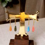 Крест с подвесками