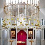 Хорос (паникадило) диаметром 300 см., храм свт. Луки (Бердянск)