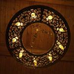 Лампадофор на девять лампад «София Киевская», вид снизу