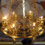 Лампадофор на шесть лампад