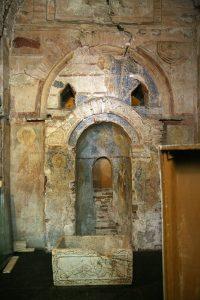 Восточная стена баптистерия. Собор Святой Софии, Киев.