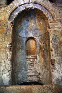 Апсида баптистерия Святой Софии, Киев, 12 век.