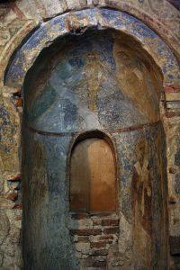 Апсида Крещальни. Собор Святой Софии, Киев.