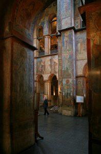 Интерьер собора Святой Софии Киевской