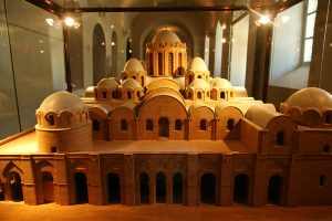 Собор Святой Софии, Киев, XI в. Реконструкция первоначального вида