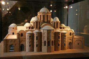 Реконструкция первоначального вида. Собор Святой Софии, Киев, XI в.