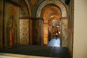 Южная внутренняя галерея собора. София Киевская.