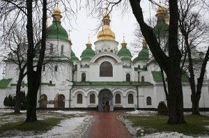 Вид на западную часть собора
