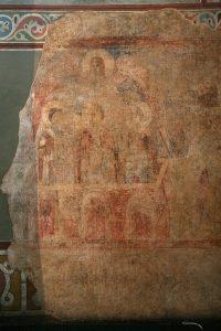 Три отрока в печи огненной. Собор Святой Софии, Киев, XI в.