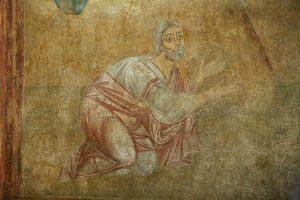 Явление Троицы Аврааму, фрагмент
