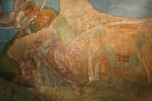 Жертвоприношение Авраама. Собор Святой Софии, Киев, XI в.