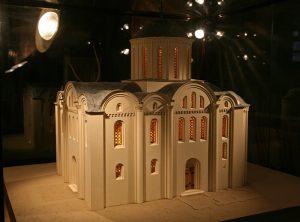 Церковь Святых Кирилла и Афанасия Александрийских, г.Киев, 12 в. Реконструкция первоначального вида
